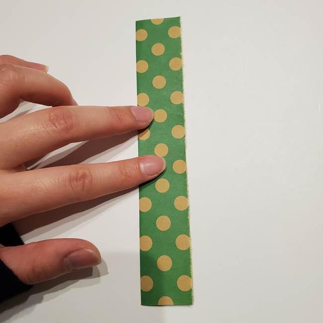 七夕飾りに☆折り紙のハートつづりの作り方折り方①パーツ(6)