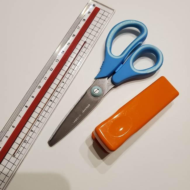 七夕飾りに折り紙でかわいいハートを簡単手作り☆用意するもの(2)