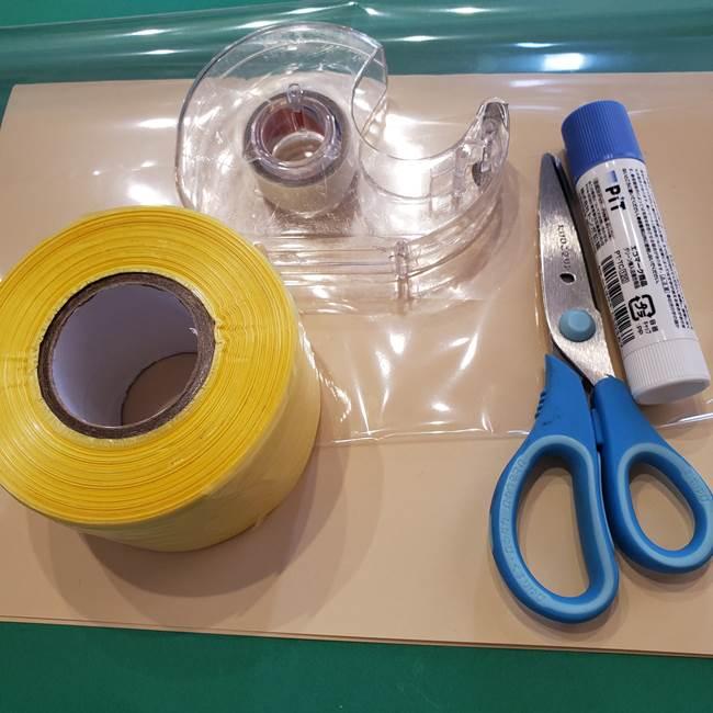 折り紙でつくるひまわりのメダルとコースター(2)