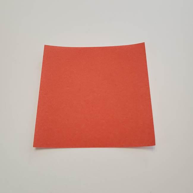 折り紙のひまわり メダルとコースターの折り方作り方②中心(1)