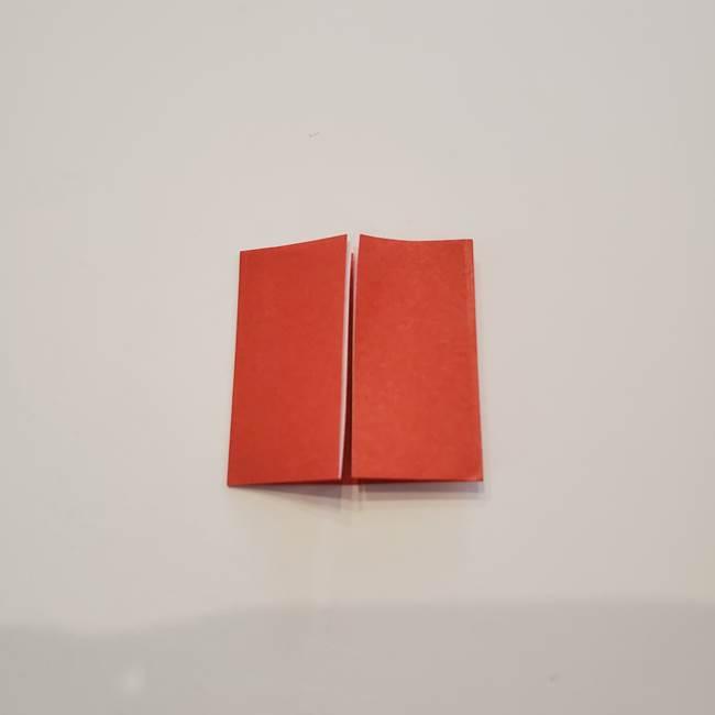 折り紙のひまわり メダルとコースターの折り方作り方②中心(5)