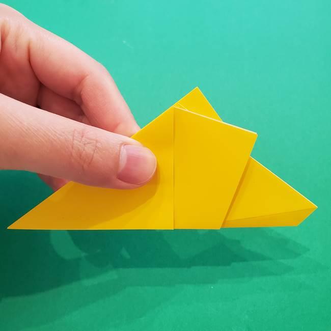 折り紙の星を1枚でつくる難しい作り方折り方①五角形(12)