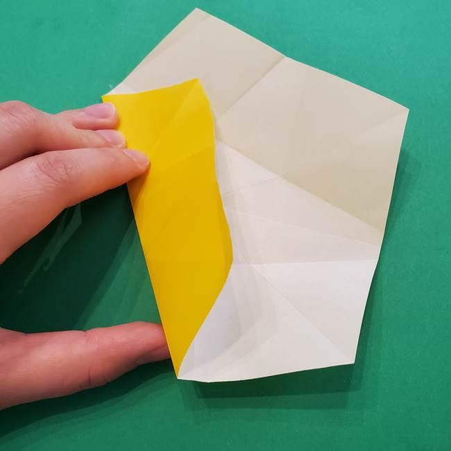 折り紙の星を1枚でつくる難しい作り方折り方②折る(8)