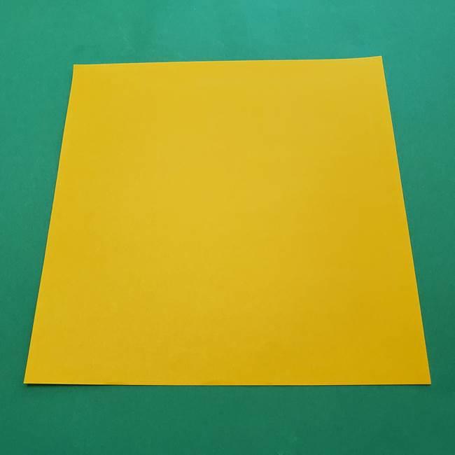 折り紙の星を1枚で作るのは難しい?(1)