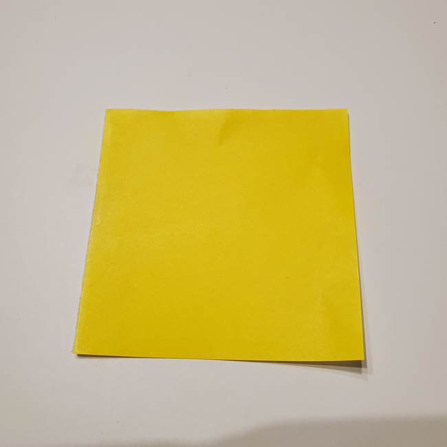 折り紙の星|立体的で難しい折り方作り方①パーツ(1)