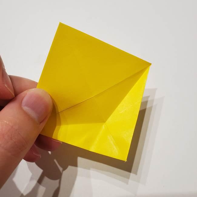 折り紙の星|立体的で難しい折り方作り方①パーツ(11)