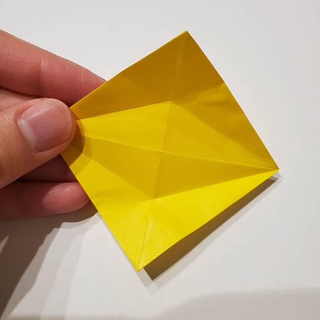 折り紙の星|立体的で難しい折り方作り方①パーツ(13)