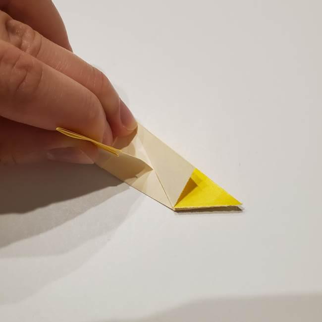 折り紙の星|立体的で難しい折り方作り方①パーツ(19)