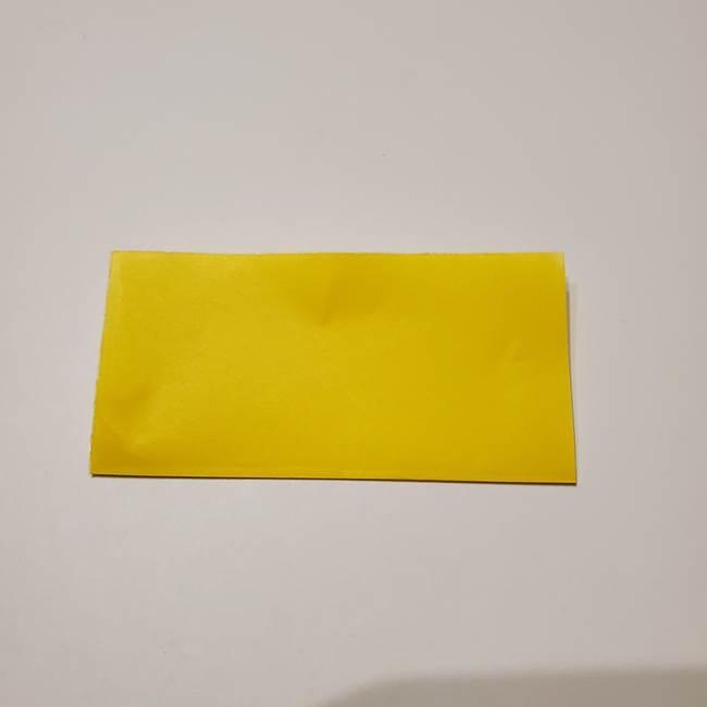 折り紙の星|立体的で難しい折り方作り方①パーツ(2)