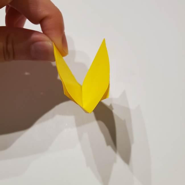 折り紙の星|立体的で難しい折り方作り方①パーツ(24)