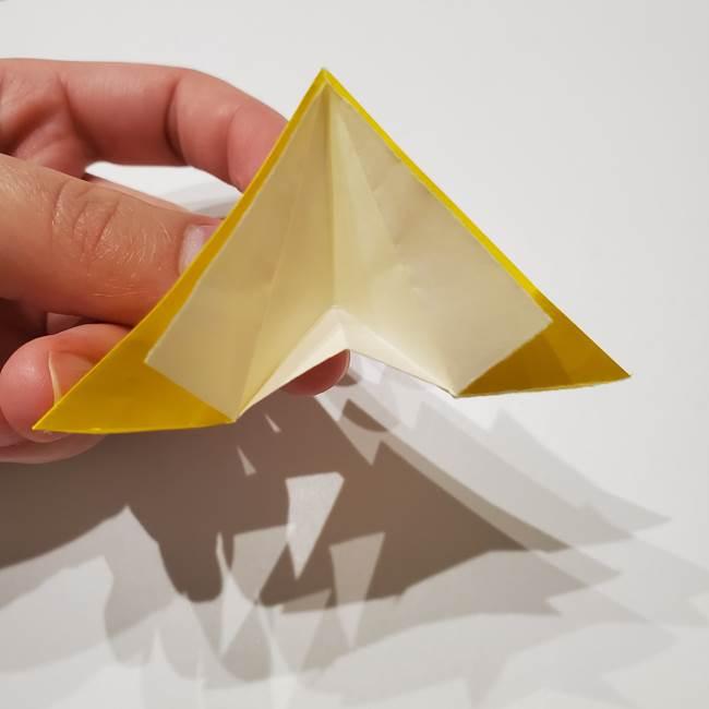 折り紙の星|立体的で難しい折り方作り方①パーツ(25)