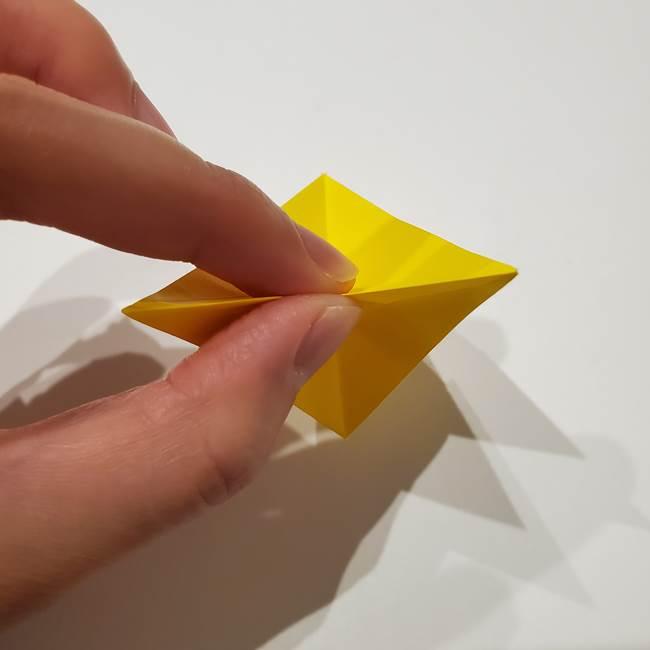 折り紙の星|立体的で難しい折り方作り方①パーツ(27)