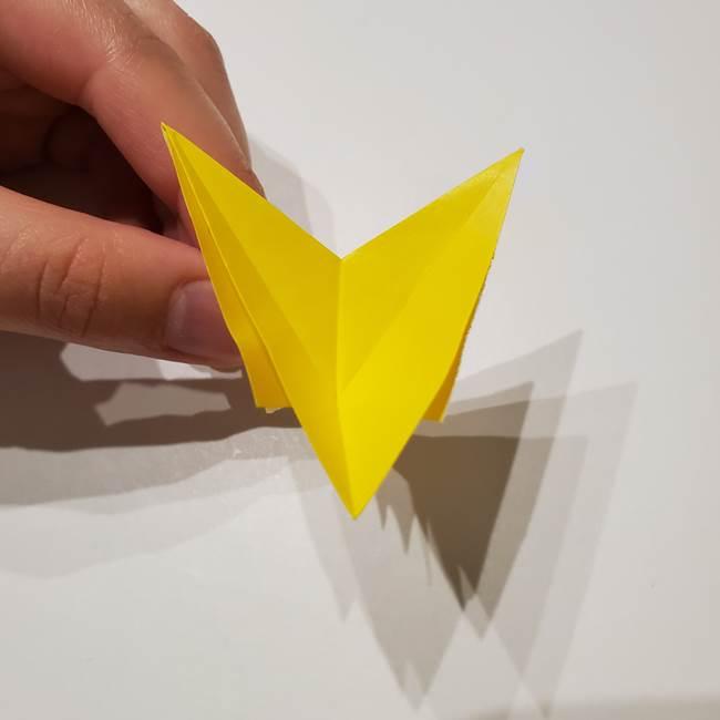 折り紙の星|立体的で難しい折り方作り方①パーツ(28)