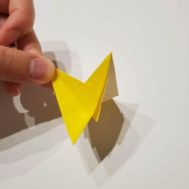 折り紙の星|立体的で難しい折り方作り方①パーツ(29)