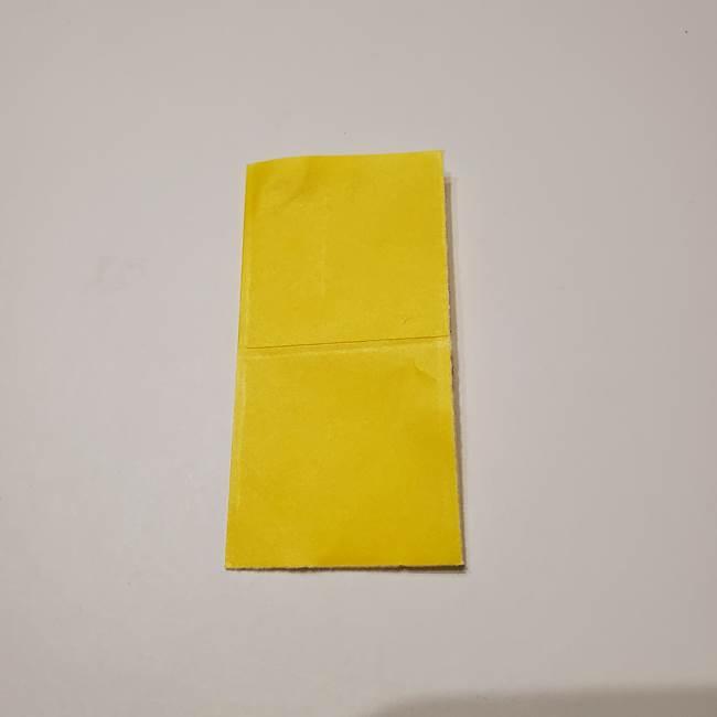 折り紙の星|立体的で難しい折り方作り方①パーツ(3)