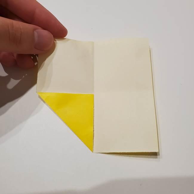 折り紙の星|立体的で難しい折り方作り方①パーツ(5)