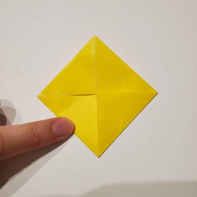折り紙の星|立体的で難しい折り方作り方①パーツ(6)