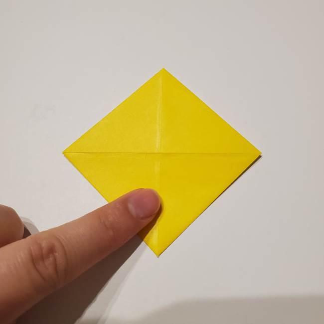 折り紙の星|立体的で難しい折り方作り方①パーツ(7)