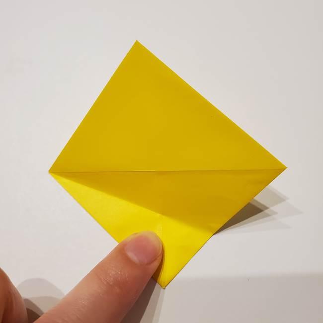 折り紙の星|立体的で難しい折り方作り方①パーツ(9)