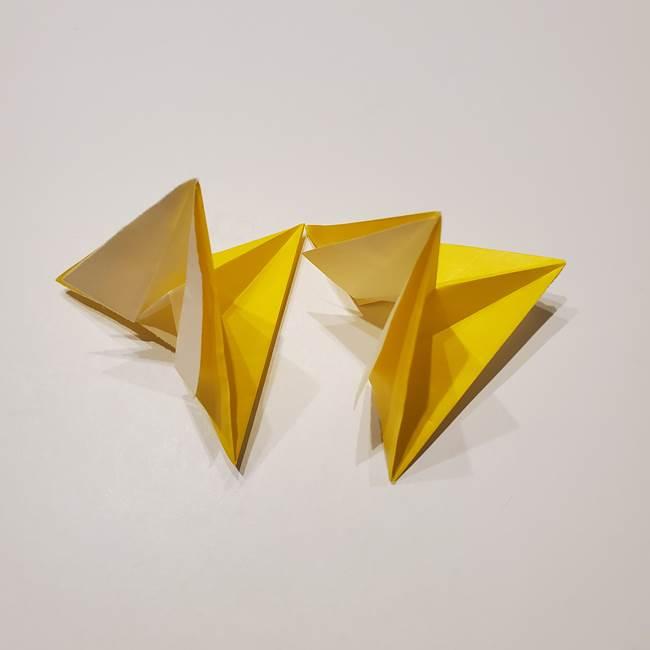 折り紙の星|立体的で難しい折り方作り方②組み合わせ(1)