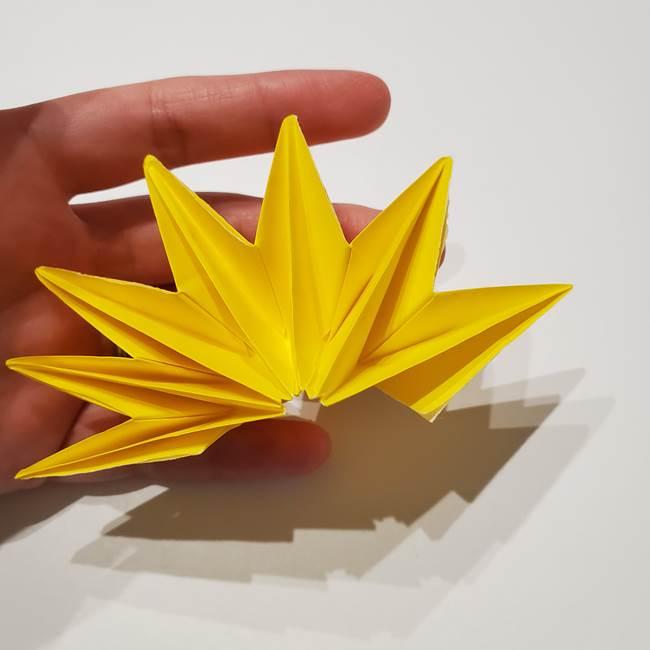 折り紙の星|立体的で難しい折り方作り方②組み合わせ(10)