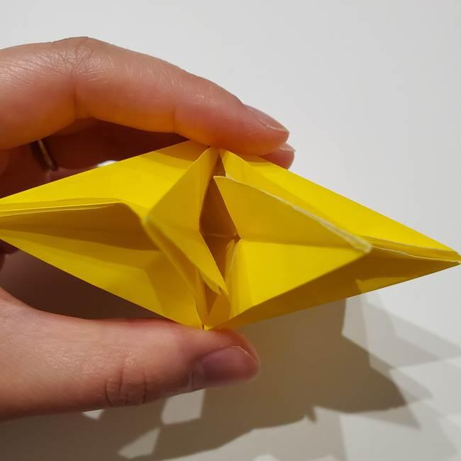 折り紙の星|立体的で難しい折り方作り方②組み合わせ(11)