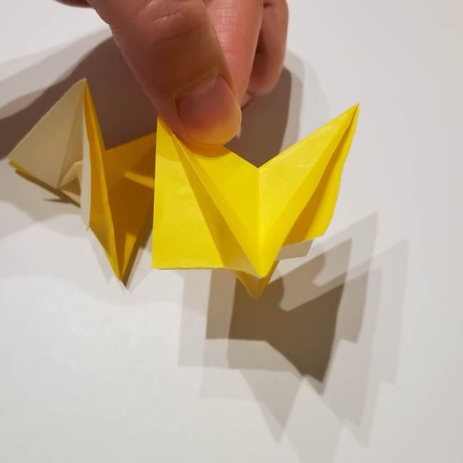 折り紙の星|立体的で難しい折り方作り方②組み合わせ(2)