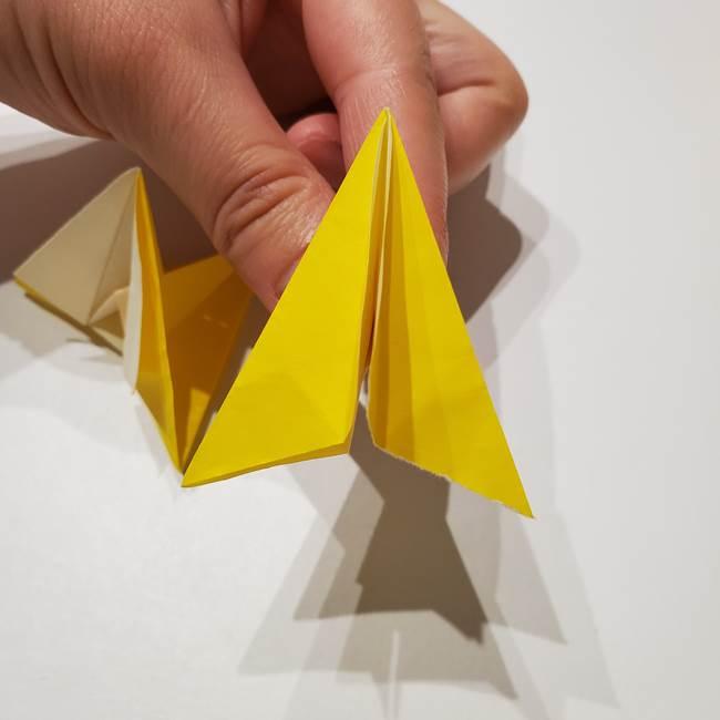 折り紙の星|立体的で難しい折り方作り方②組み合わせ(3)