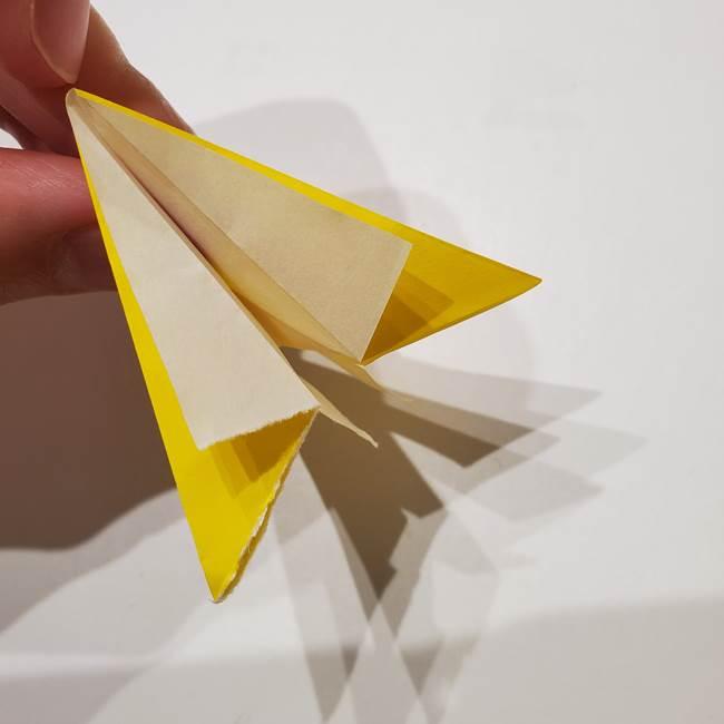 折り紙の星|立体的で難しい折り方作り方②組み合わせ(4)