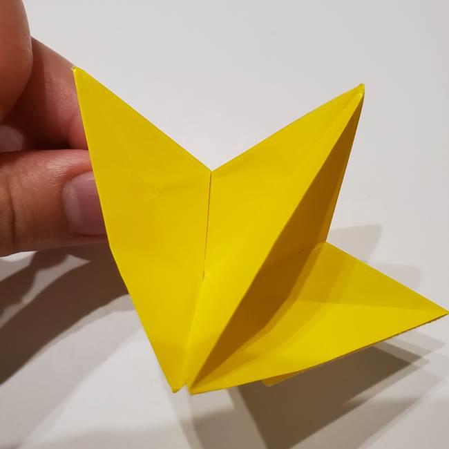折り紙の星|立体的で難しい折り方作り方②組み合わせ(7)