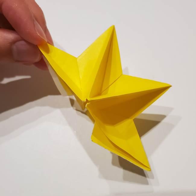 折り紙の星|立体的で難しい折り方作り方②組み合わせ(8)