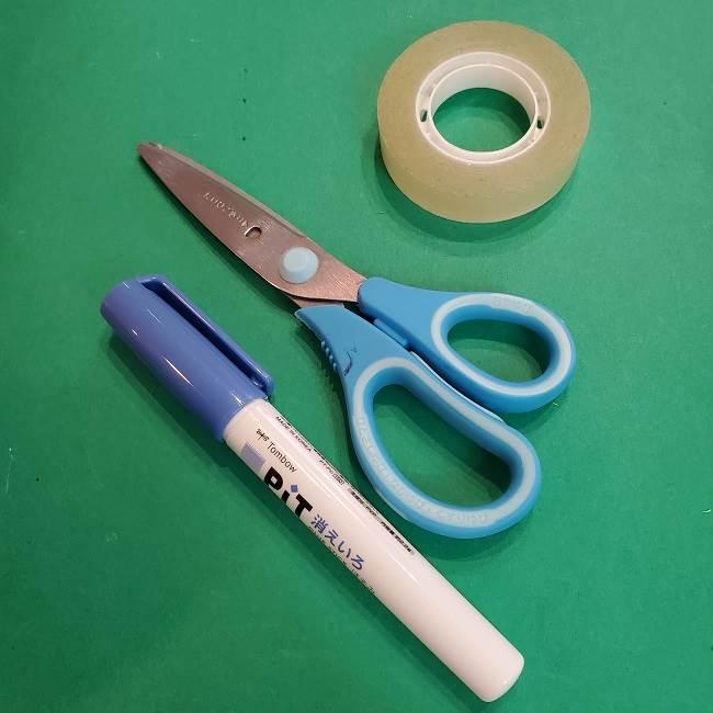 折り紙 ひまわりのリースは簡単♪用意するものは?(3)