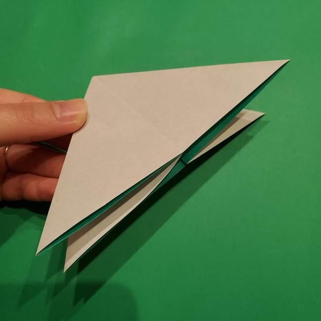 折り紙 笹の葉リース作り方①Aユニットの折り方(10)
