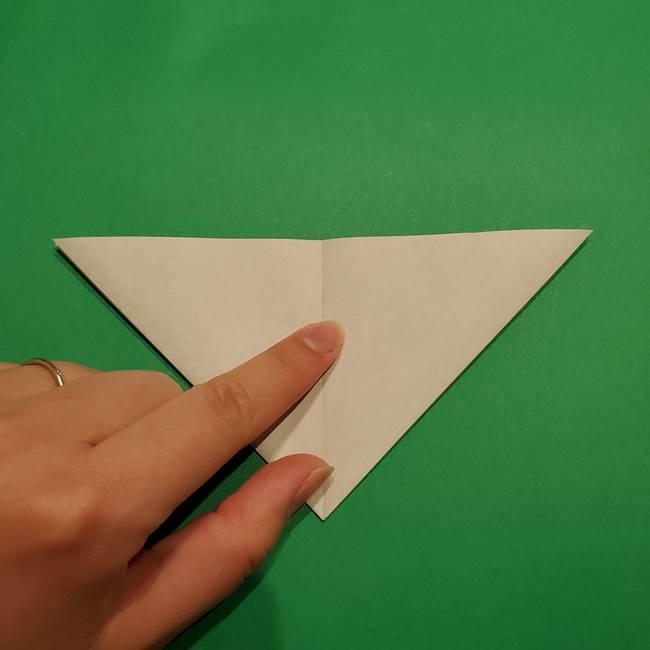 折り紙 笹の葉リース作り方①Aユニットの折り方(11)