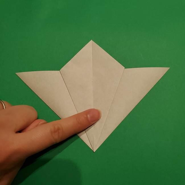 折り紙 笹の葉リース作り方①Aユニットの折り方(12)