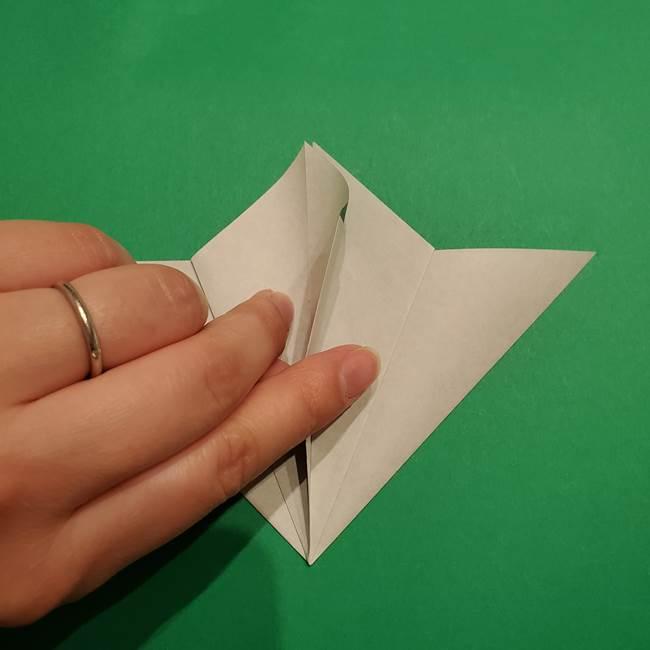 折り紙 笹の葉リース作り方①Aユニットの折り方(16)
