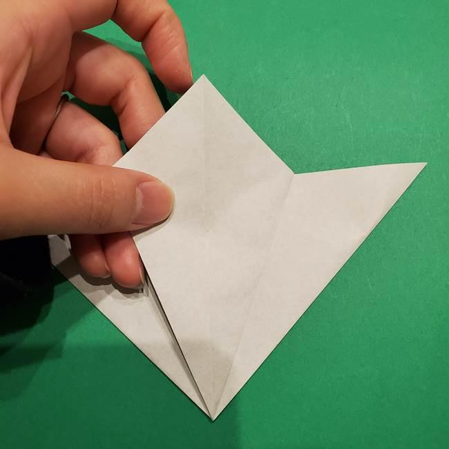 折り紙 笹の葉リース作り方①Aユニットの折り方(21)