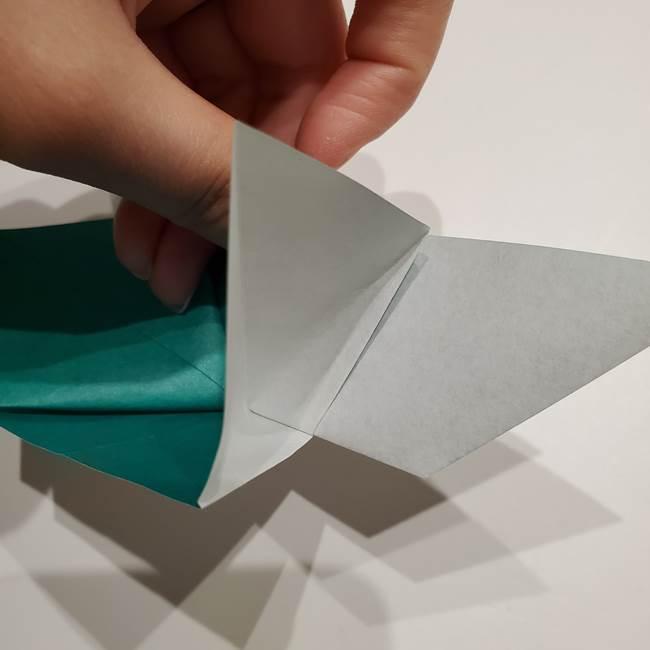 折り紙 笹の葉リース作り方①Aユニットの折り方(29)