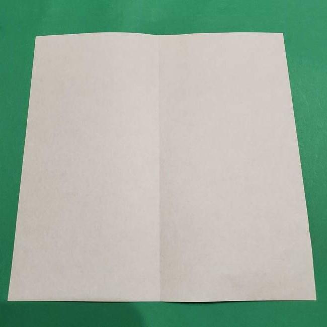 折り紙 笹の葉リース作り方①Aユニットの折り方(3)