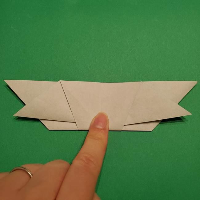 折り紙 笹の葉リース作り方①Aユニットの折り方(30)