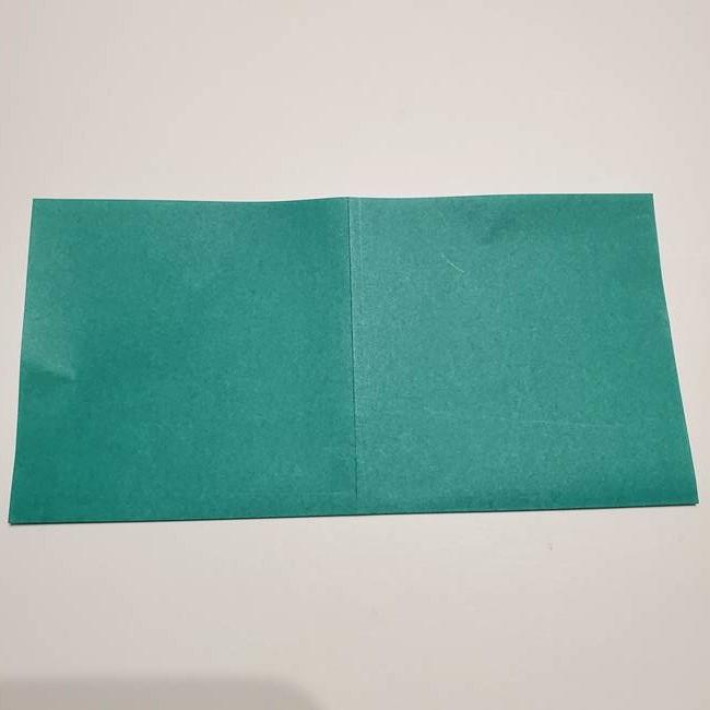 折り紙 笹の葉リース作り方①Aユニットの折り方(4)