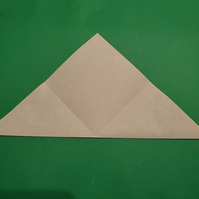折り紙 笹の葉リース作り方①Aユニットの折り方(6)