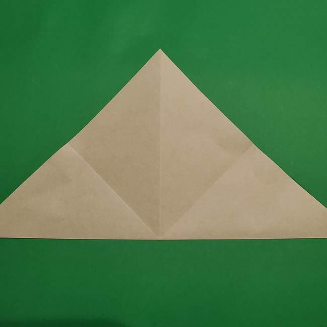 折り紙 笹の葉リース作り方①Aユニットの折り方(8)