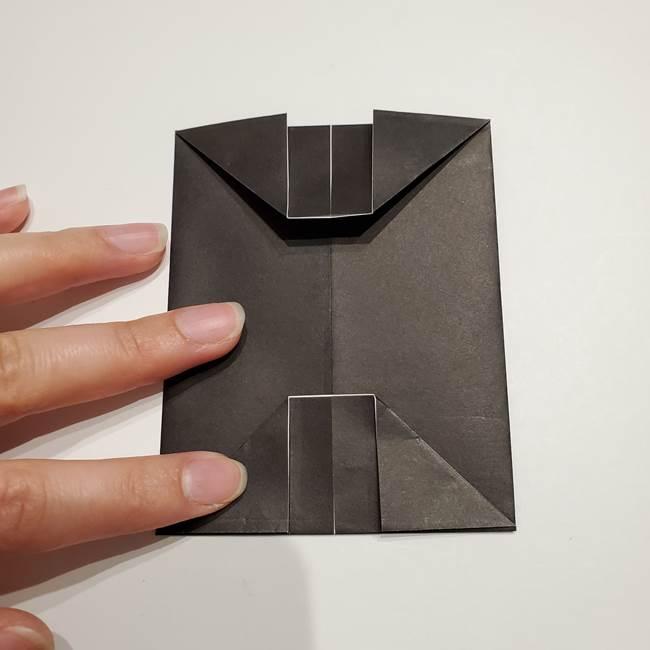 提灯の折り紙(平面)の簡単な折り方作り方①張輪(14)