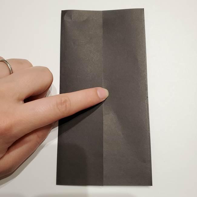 提灯の折り紙(平面)の簡単な折り方作り方①張輪(4)