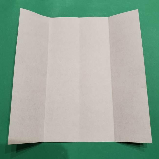 提灯の折り紙(平面)の簡単な折り方作り方①張輪(5)