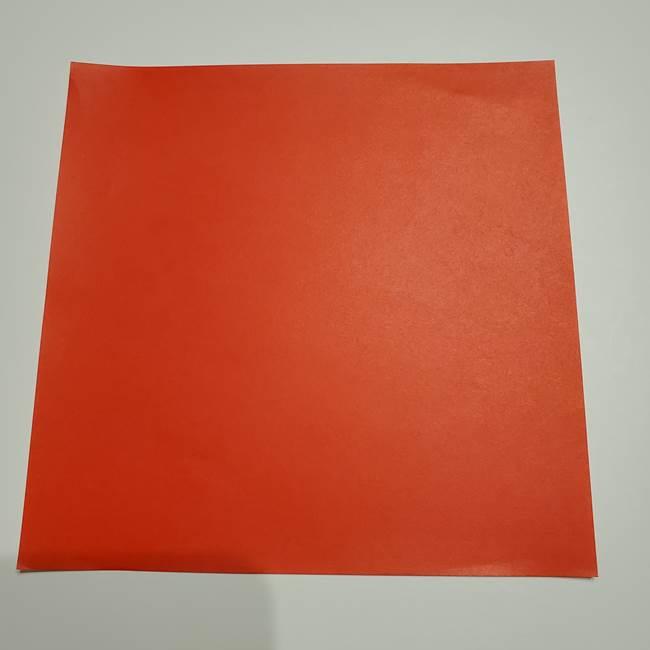 提灯の折り紙(平面)の簡単な折り方作り方②火袋(1)