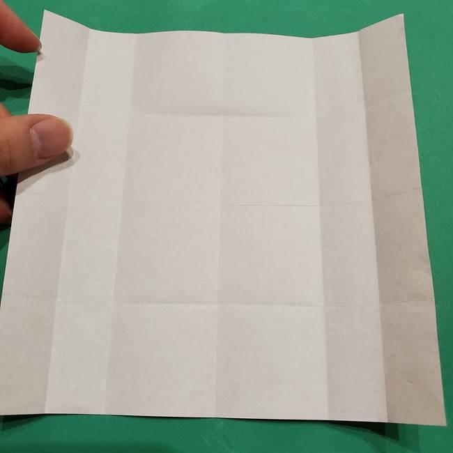 提灯の折り紙(平面)の簡単な折り方作り方②火袋(12)