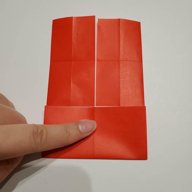 提灯の折り紙(平面)の簡単な折り方作り方②火袋(14)