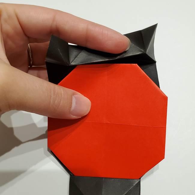 提灯の折り紙(平面)の簡単な折り方作り方②火袋(20)